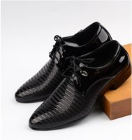 basic brand shoes - Business Men s Basic Flat Shoes Wedding Dress Shoes Luxury Brand Formal Wearing Shoes British Men Casual Office Shoes