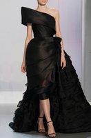 abendkleider ballkleider - einzigartiges design eine schulter dubai arabische abendkleider geschichteten sexy ballkleider Gericht zug de festa Evening Dresses