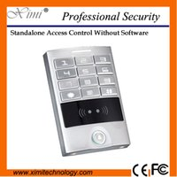 Wholesale Touch panel access controller waterproof standalone without software M09B rfid card reader single door access control