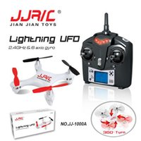 Wholesale 2016 Hot Sale JJRC A G CH Axle Gyro LCD RC Quadcopter With LED RTF Mode2