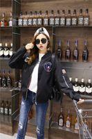 Wholesale 2016 new fashion product autumn Fashion loose thin cloth coat casual letters all match Baseball Jacket Stylish fashion