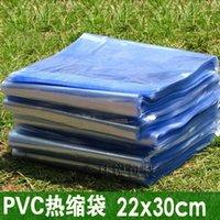 Wholesale 22x30cm pvc packing bag plastic bag pvc heat shrink bag