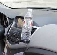 Wholesale Black Adjustable Car Auto Air Vent Coke Water Wine Glass Holder Mount Stand Universal Car Accessories