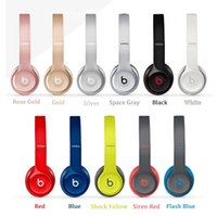 Wholesale Refurbished Used Wireless SOLO Headphone Active Color Wireless SOLO Bluetooth Headset VS Wireless studio headphone