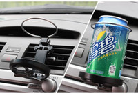 Wholesale 250pcs Universal Folding Air Conditioning Inlet Auto Car Drink Holder Car Beverage Bottle Cup Car Frame for Truck Van Drink ZA0304