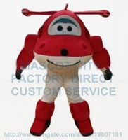 airplane s - the red airplane mascot costume adult size popular cartoon character aeroplane theme anime cosply costumes carnival fancy dress