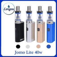 Cheap 100% Original Jomo Lite 40w Jomo 40 watt E cig Box Mod Lite 40w vapor mod kit 3ml Vaporizer VS Kanger Kbox 120W 0268004