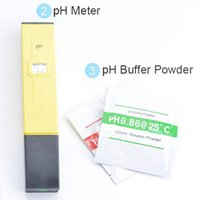 Wholesale Aquarium Digital PH Meter Tester Pocket Pen Hot Sell Water Quality Measure with PH Buffer Powders