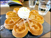 Wholesale Rotating water droplets waffle making machine electric high quality waffle maker