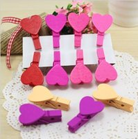 Wholesale Stationery wool snacks clip love small clamps multicolour small clip for home decor