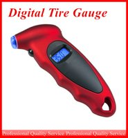 Wholesale Digital Tire Gauge Universal High Accuracy Digital LCD Display Auto Car Tire Pressure Gauge Motor Tyre Air Pressure meter Bike Tester ATP025