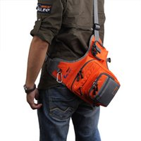Wholesale Ilure Fishing Bag Multi Purpose Canvas Waterproof Fishing Reel Lure Tackle Bag