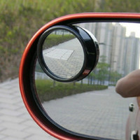 Wholesale 2Pcs Universal Driver Side Wide Angle Round Convex Car Vehicle Mirror Blind Spot Auto RearView for All Car Random Color order lt no trac