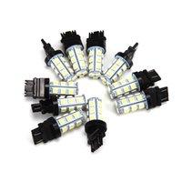 Wholesale DHL Free White V SMD Reverse Back Up Tail Brake Stop Turn Auto Car LED Light Bulbs Lamp