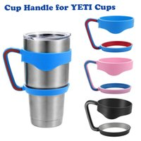 Wholesale Hot Cups Handle for Bilayer YETI Cups OZ Stainless Steel Insulation Mug Cup Cars Color Travel Vehicle Beer Rambler Tumblerful DHL OTH241
