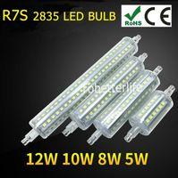 Wholesale AC90 V R7S LED Lamp w w w w SMD led to led Light Bulb Replace Halogen Lamp floodlight waterproof IP65