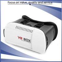 Wholesale 3D VR Box Virtual Glasses Adjustable D Virtual Reality Glasses