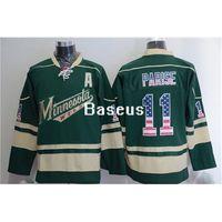 apparel brands usa - 2016 Wild Parise USA Flag Hockey Jereys Premier Jersey Brand Hockey Apparel New Collection Hockey Apparel Cheap Discount Hockey Wears