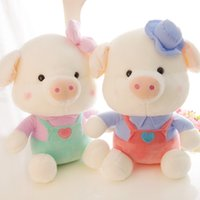 Wholesale 2016 Fashion Baby Plush Dolls PC CM cute cartoon pig Kids Plush Toy for Children Room Bed Decoration Toys