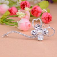 Wholesale 2016 new style hot seling Korean high grade inlaid AAA zircon unique pearls fashion trendsetter bowknot hairpin