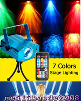 Wholesale 2016 NEW LED Water Ripples Light LED Laser Stage Lighting Colorful Wave Ripple Shining Effect Disco Light for Party Disco Concert Balls MYY3