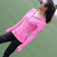 Wholesale Sport Jacket Running For Women Outdoor Jacket Women Waterproof Windproof Ladies Yoga Jacket Training Sporting Clothing WG HKD109