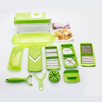 Wholesale USA Nice Multi Pieces Plastic Slicer Chopper Set Kitchen Cooking Stripper Shaver Knife Cutter For Home Sets