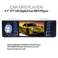 audio amplifier receiver - 4 inch Car Stereo MP5 Video Player Bluetooth Hand Free Audio USB FM Receiver In Dash DIN CAU_00N