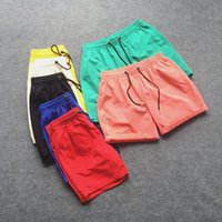 Men basketball candy - Summer Style Men Basketball Sport Shorts Candy Color Quick Drying Short Beach Shorts Casual Shorts Masculino Colors CH040