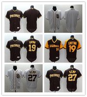 27 - 2016 Flexbase MLB Stitched San Diego Padres Matt Kemp Gwynn Blank White Baseball Jersey Mix Order