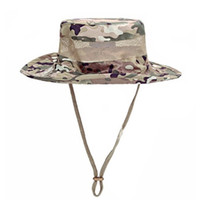 Wholesale 2016 new high quality Airsoft Sniper Camouflage Boonie Hats Tactical Nepalese Cap army Mens Fishing hat Outdoor Hiking Accessories one s
