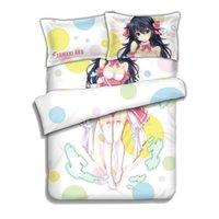 ako style - netoge no yome wa onnanoko ja nai to omotta Tamaki Ako Anime Bedding Sheet Bedding Sets Comforter Sets Pillow Case