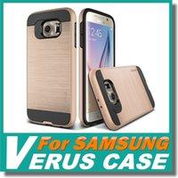 anti plastic bags - V ERUS Case For Galaxy S7 S6 Edge Plus Note Dual Layered Anti Shock Hard V ERUS Case Shockproof Hard Back Cover Opp Bag