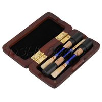 Wholesale Oboe Reed Case Storage for Reeds Maroon Distance Between the Holders mm