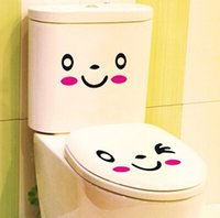 bath room decorations - Lovely cartoon people animal closestool stickers bath room decoration stickers differents tyle can choose