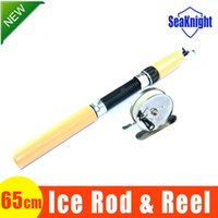 Wholesale SeaKnight CM Winter Fishing Rod For Winter Snow Pole Stick Ice Rods And Tips Ice Fishing Tackle Gear New