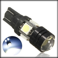 Wholesale by dhl or ems pieces T10 SMD LED Bulb Lamp Xenon White V Parking License Plate Light