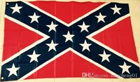 Wholesale Printed Flag Confederate Rebel Civil War Flag National Polyester Flag X3FT D by DHL