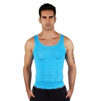 abs posture - Men s Tight Slimming Body Shaper Vest Shirt Abs Abdomen Slim Colors Classic Undershirt Correct Posture Body Slim N Life