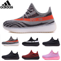 Cheap Adidas Originals 2016 Yeezy Boost 550 Yeezy Sneakers Yeezy Kanye Milan West Yeezy Running Shoes Men Fashion Trainers Women Shoes With Box