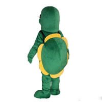 Wholesale Big High Quality Ocean Sea turtle Furry Polar Cartoon Mascot Costume Party Fancy Dress Adult Size
