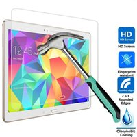 Wholesale 2016 Explosion Proof H mm Screen Protector Tempered Glass for Samsung Galaxy Tab S T800 DHL Free