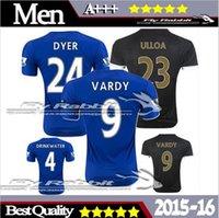 Wholesale Top Thai Leicester Home blue Jersey Leicester City Jersey Away MAHREZ VARDY KRAMARIC OKAZAKI ULLOA shirt Rugby Jerseys