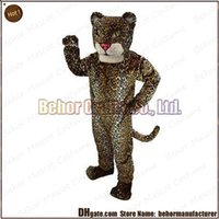 adult plush costume - hot Jaguar mascot costume lovely high quality cheap plush Jaguar mascot cartoon set adult type we accept customized mascot