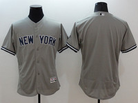 Wholesale New York Yankees Jersey Classic Grey All Sizes