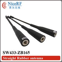 Wholesale SW433 ZB165 Gain dBi MHz Straight Rod antenna for