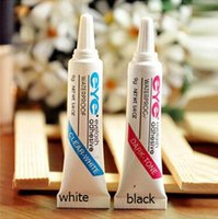 Wholesale New EYE WATER PROOF FALSE EYELASH ADHESIVE EYELASH GLUE Dark White Eyelash Adhesive G Eyelash glue hypoallergenic super sticky Makeup Tools