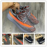 Wholesale With Box Boost V2 Turtle Dove Glows in The Dark Kanye West Boost Shoes Sply Beluga Orange Black Running Shoes
