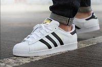 Wholesale High quality new adidas Superstar S Man s Women s shoes sneakers man shoes women shoes Classic couples shoes
