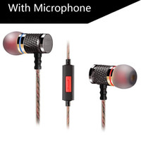 Bluetooth Headset bass magnet - KZ ED2 Sports Headphones Stereo Earphone Edition Plated Magnets Music Metal Heavy Bass Sound In Ear Headset with Mic